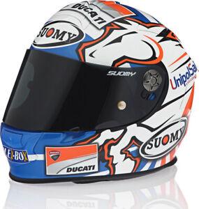 NEW LIMITED SUOMY Italian Brand of Motorcycle Helmets Logo LONG SLEEVE HOODIE