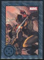 2013 Marvel Greatest Battles Trading Card #41 Wolverine vs. Deadpool