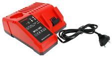 M18 Chargeur M12-18C pour Milwaukee Batterie 48-59-1812 48-59-1807 48-59-1840