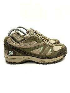New Balance 606 Trail Hiking Shoes Brown/Blue WW606BR2 Women's Size 9