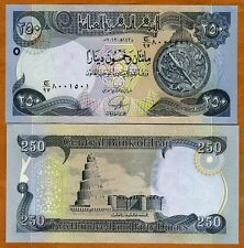 Iraq, 250 Dinars, 2013 (2014), P-97, UNC