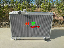 For Toyota Supra Soarer MK3 7M-GTE 1986-1992 aluminum alloy radiator 3000CC MZ20
