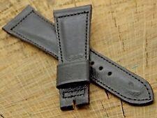 New Old Stock Omega Vintage Unused Black Calfskin Watch Band 22mm Mens Short