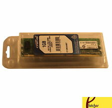 Crucial Technology 1GB DDR2 667  PC2-5300 DDR DIMM - CT12864AA667 For Desktop