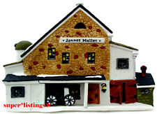 Dept. 56 Jannes Mullet Amish Barn Retired 1992 New England 59447