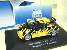 RENAULT SPORT CLIO V6 TROPHY ARROGANCE UNIVERSAL HOBBIES 1:43