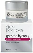 SKIN DOCTORS GAMMA HYDROXY Skin Cream 50ml,Powerful ONE-STEP Resurfacing