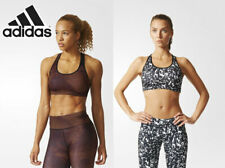 Adidas Gear Racerback Sports Bra a/ B Cup Fitness Top Running Ladies Shirt