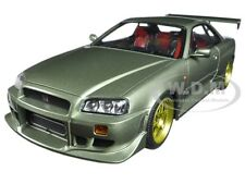 1999 NISSAN SKYLINE GT-R (R34) MILLENNIUM JADE 1:18 MODEL BY GREENLIGHT 19033