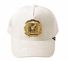 Gold Star Dominican Republic White Trucker Hat (DR. FLAG WHIT)