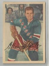 1953-54 Parkhurst Hockey Allan Stanley Card # 64 Excellent Condition Set Break