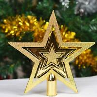 New Christmas Star Tree Topper For Party Holiday Party Ornament Decor