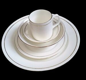 27 Piece fine bone china Royal Dinner set with serving wares 4 place setting