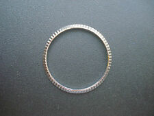 A STEEL FLUTED BEZEL FOR MENS VINTAGE 36MM ROLEX DATEJUST OR DAY-DATE WATCH CASE