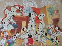 Vintage Ravensburger Disney 101 Dalmatians Floor Jigsaw Puzzle. 1998