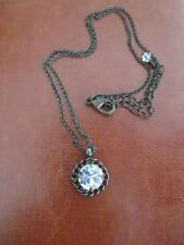 Sorrelli Crystal Clear Pendant Necklace Stunning!