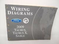 1999 Ford Taurus Mercury Sable Wiring Diagrams Electrical Service Manual Ebay