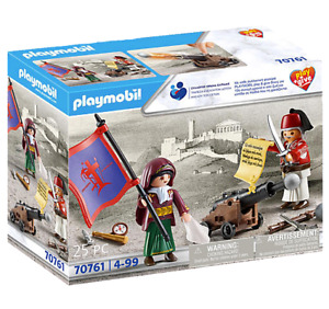 Playmobil Play Give 70761 Greek Revolution Heroes 1821 NEW Exclusive Collectible