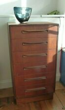 Vintage Retro Mid Century G Plan Fresco Tall Boy Chest of Drawers - Delivery