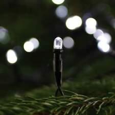 Osram LED-Mini-Außenlichterkette 80 weiße LEDs Kabel schwarz Weihnachtskette