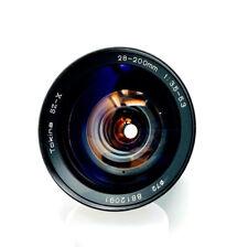 [MINT] Tokina SZ-X 28-200mm f3.5-5.3 Zoom Manual Lens With Minolta MD Mount