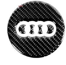 NEU!!! Echt Carbon für Lenkrad Emblem Audi  A1 A3 A4 A5 A6 A7 A8 S4 Q3 Q5 Q7