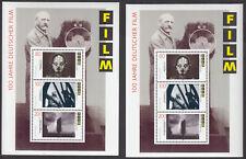 BRD Block 33 ( 2 Stück ) postfrisch 100 Jahre deutscher Film