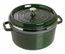Staub Cast Iron Round Casserole Pans