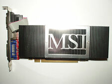 MSI NX8400GS-TD512EH, GeForce 8400 GS 512 MB DDR2, DVI, VGA, S-Video, passiv