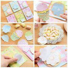 Cute Lovely Sweet Dessert Sticker Memo Marker Post-it Bookmark Index Sticky Note