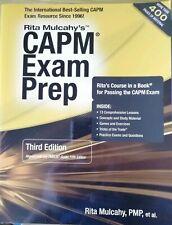 CAPM Exam Prep, Rita Mulcahy, 3rd Edition 2013. Project Management textbook.