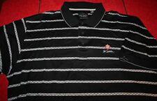 LA QUINTA RESORT GREG NORMAN short sleeve BLACK GOLF SHIRT 2XL XXL