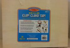 Melissa & Doug Band-in-a-Box Clap Clang Tap - 10-Piece Musical Instrument Set