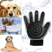 New Pet Dog Cat Grooming Glove Deshedding Brush Fur Remover Mitt for Hand