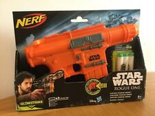 Star Wars Rogue One Nerf Gun with Laser Sound Glowstrike x 3 darts included  BN