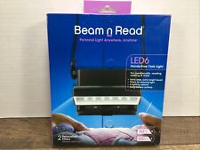 Beam n Read Led 6 Hands-Free Task Light; Extra Wide and Extra Bright Light from
