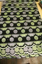 African Cotton Voile Embroidery Lace Material Fabric 5 Yards Black/Green/Grey