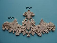 PIUMA in legno di Scorrimento centro APPLIQUE Furniture Stampaggio Decorativi C620