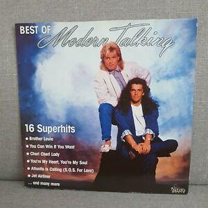 Schallplatte Modern Talking - Best Of / mint-