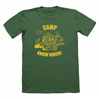 CAMP KNOW WHERE T SHIRT, STRANGER THINGS, NERD T-SHIRT, GEEK TSHIRTS, FUNNY TEE