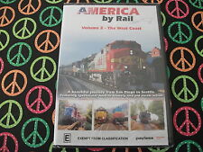 America by Rail Volume 2 - The West Coast (DVD,) All Regions DVD Rated E NEW