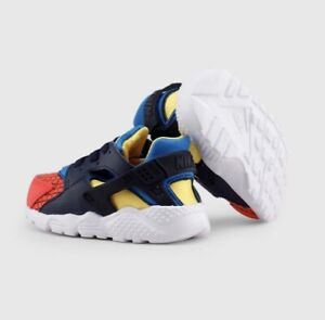 Nike Huarache Ultra Run Bright Crimson BQ7098-800 Size 4c