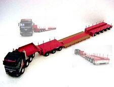 Conrad 61127 MAN 6x8 w/Lowloader Nooteboom Livery 3+5 Steerable Axles - 1/50 MIB