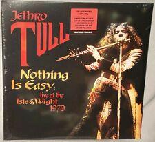 LP JETHRO TULL Nothing Is Easy Live 1970 (180g VINYL GERMANY 2021) NEW MT SEALED