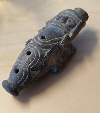 art précolombien ocarina flûte sifflet terre cuite Pre columbian Costa Rica ?