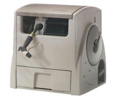 Suncast 100 ft. Powerwind Automatic Rewind Hose Reel Garden Storage Bin Plastic
