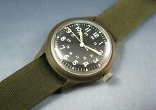 Vintage Benrus Mil-W-46374A US GI Military Rad Waste Mens Watch 1976