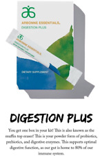 Arbonne Digestion Plus GLUTEN FREE VEGAN Food Supplement 15x Stick Pack