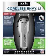 Andis Cordless Envy 73000 Li Adjustable Blade Zero Gapped Clipper 110/220 Volts