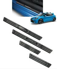 2019 Toyota Corolla Hatchback Door Sill Protectors Set of 4 OEM PT413-12192